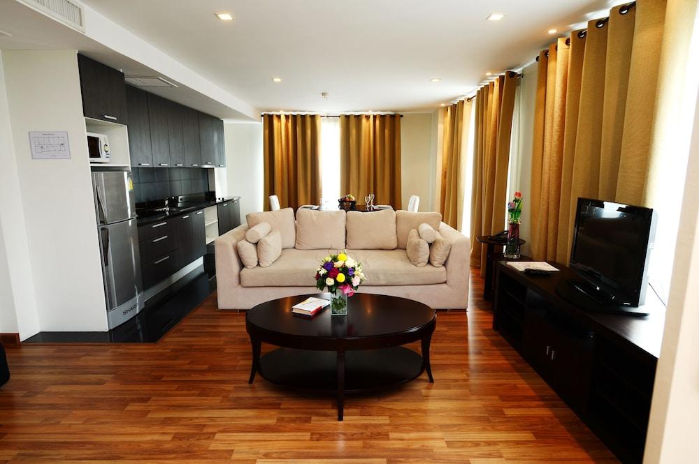 블레스 레지던스(Bless Residence) Hotel Image 27 - Living Area