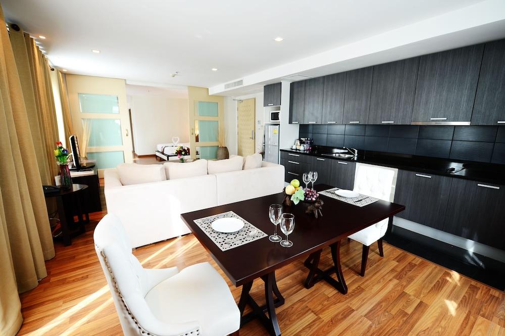 블레스 레지던스(Bless Residence) Hotel Image 29 - Living Area