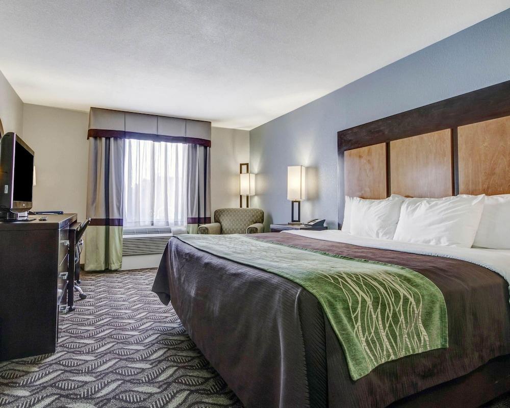 컴포트 인 & 스위트  I-10 에어포트(Comfort Inn & Suites I-10 Airport) Hotel Image 18 - Guestroom