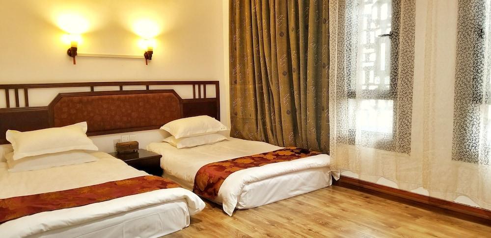 양슈오 히든 드래곤 빌라(Yangshuo Hidden Dragon Villa) Hotel Image 9 - Guestroom