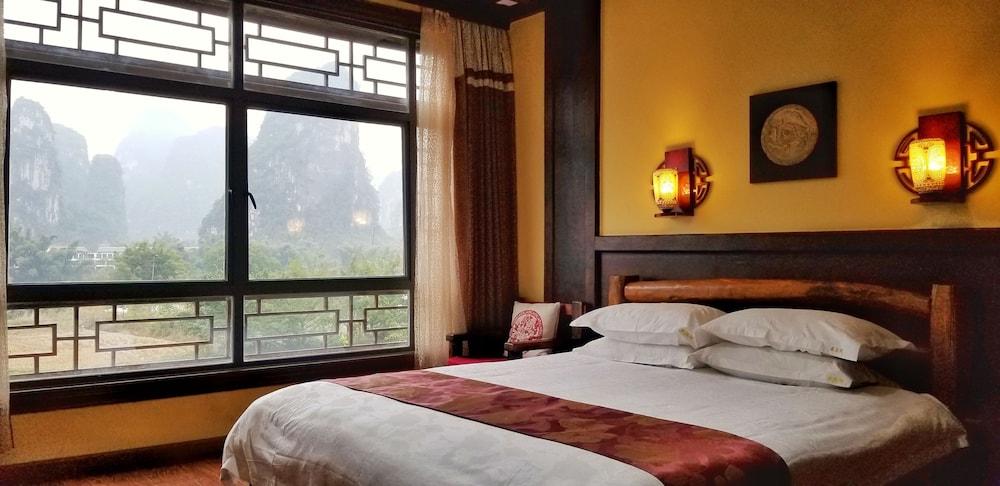 양슈오 히든 드래곤 빌라(Yangshuo Hidden Dragon Villa) Hotel Image 21 - Guestroom