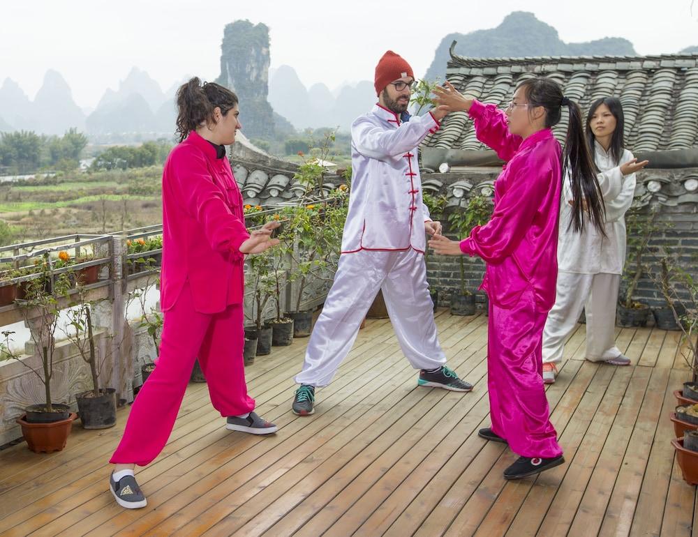 양슈오 히든 드래곤 빌라(Yangshuo Hidden Dragon Villa) Hotel Image 31 - Sports Facility