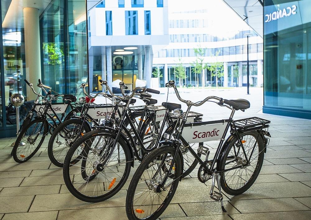 스칸딕 함부르크 엠포리오(Scandic Hamburg Emporio) Hotel Image 51 - 자전거 타기
