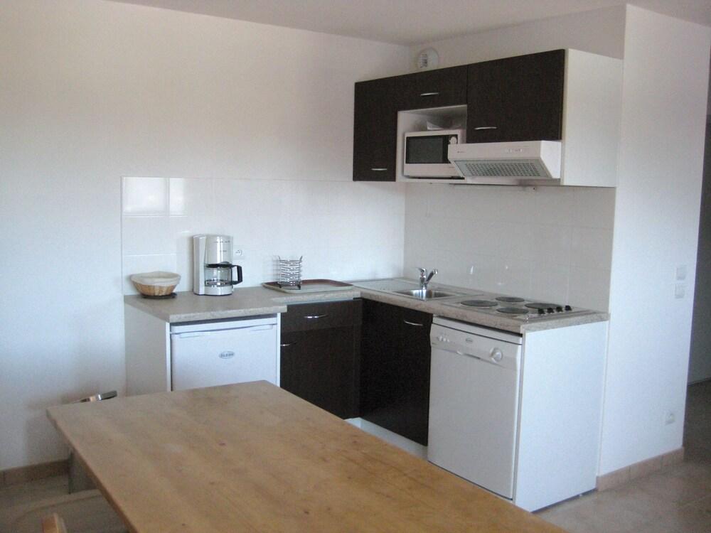 레지덩스 라그랑주 바캉스 로리 데 시메(Résidence Lagrange Vacances L'Orée Des Cimes) Hotel Image 4 - In-Room Kitchen
