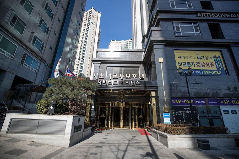 호텔 아르누보 서초(Hotel Artnouveau Seocho) Hotel Image 46 - Hotel Front