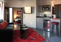 Exclusive Suite, 1 Bedroom, Accessible, Kitchen (with separate living room & Balcony)