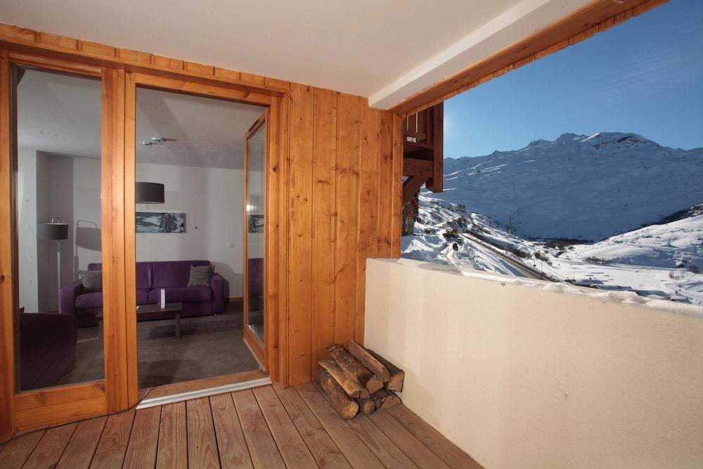 레지던스 르 샬렛 두 몽 발론(Residence Le Chalet du Mont Vallon) Hotel Image 62 - Balcony View
