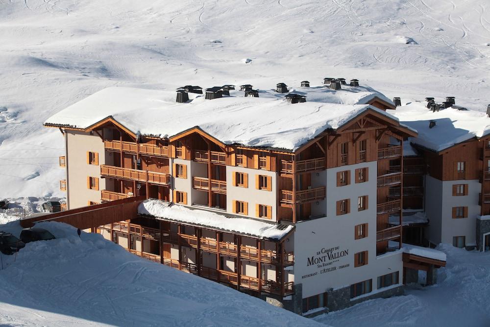 레지던스 르 샬렛 두 몽 발론(Residence Le Chalet du Mont Vallon) Hotel Image 60 - Aerial View