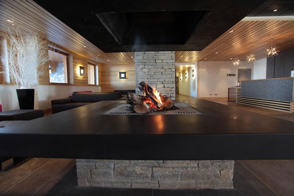 레지던스 르 샬렛 두 몽 발론(Residence Le Chalet du Mont Vallon) Hotel Image 3 - Lobby Lounge