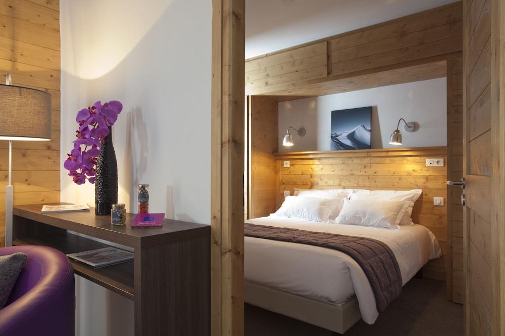 레지던스 르 샬렛 두 몽 발론(Residence Le Chalet du Mont Vallon) Hotel Image 4 - Guestroom