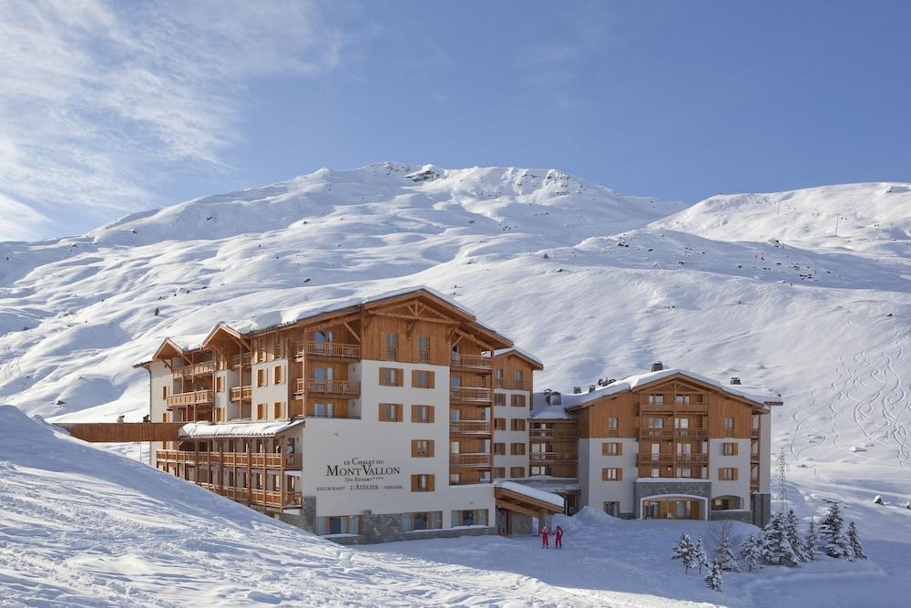 레지던스 르 샬렛 두 몽 발론(Residence Le Chalet du Mont Vallon) Hotel Image 54 - Hotel Front