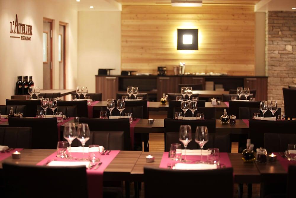 레지던스 르 샬렛 두 몽 발론(Residence Le Chalet du Mont Vallon) Hotel Image 44 - Restaurant