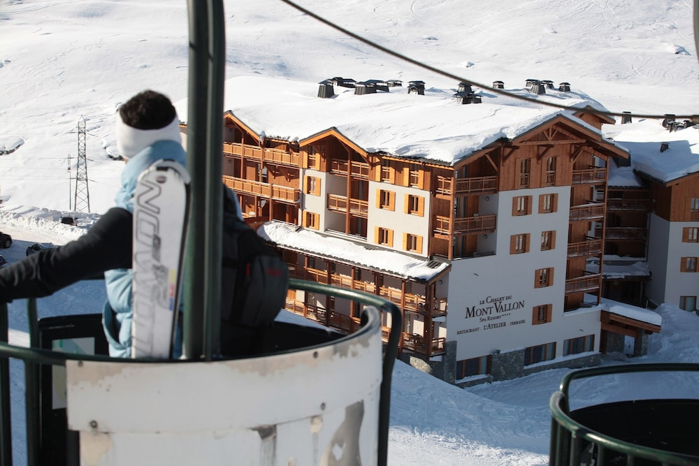 레지던스 르 샬렛 두 몽 발론(Residence Le Chalet du Mont Vallon) Hotel Image 40 - Snow and Ski Sports