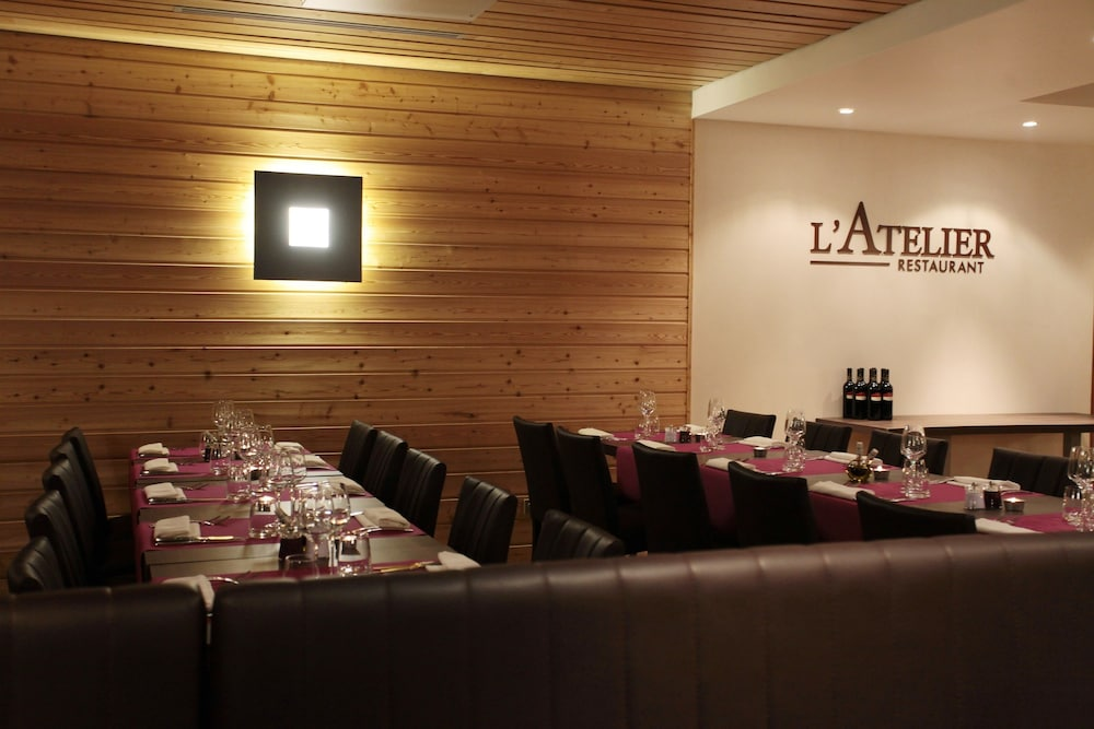 레지던스 르 샬렛 두 몽 발론(Residence Le Chalet du Mont Vallon) Hotel Image 45 - Restaurant