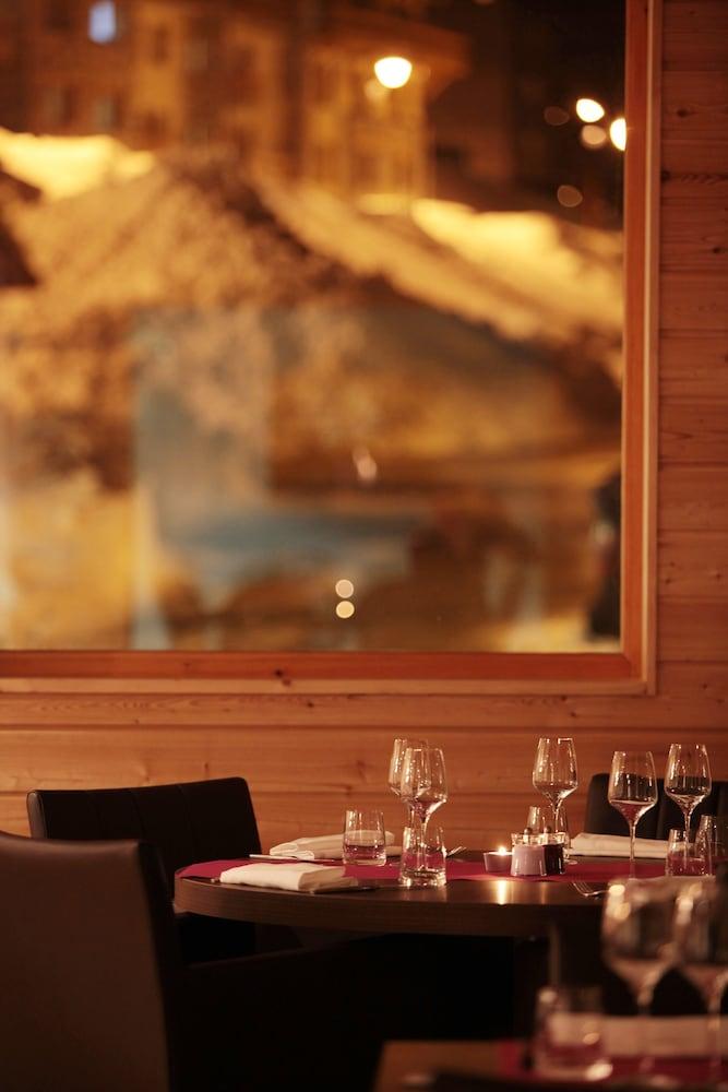 레지던스 르 샬렛 두 몽 발론(Residence Le Chalet du Mont Vallon) Hotel Image 46 - Restaurant