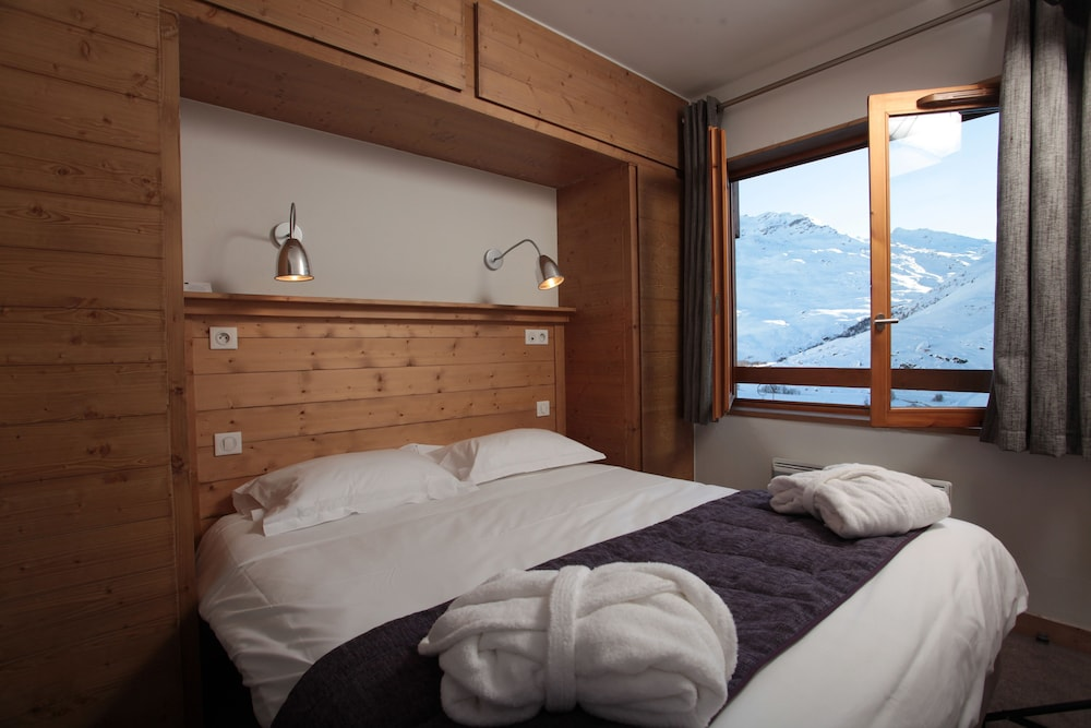 레지던스 르 샬렛 두 몽 발론(Residence Le Chalet du Mont Vallon) Hotel Image 6 - Guestroom