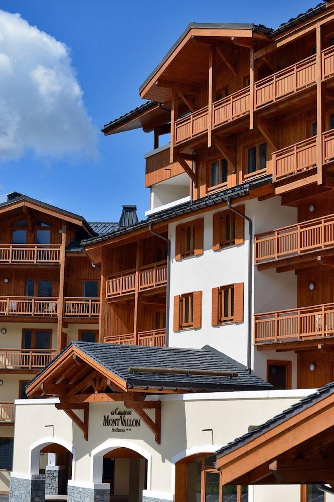 레지던스 르 샬렛 두 몽 발론(Residence Le Chalet du Mont Vallon) Hotel Image 55 - Hotel Entrance