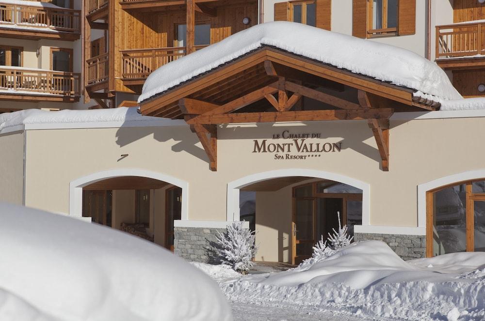 레지던스 르 샬렛 두 몽 발론(Residence Le Chalet du Mont Vallon) Hotel Image 56 - Hotel Entrance