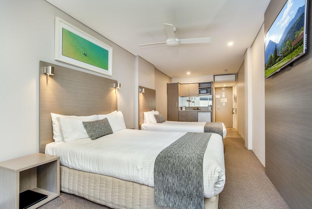 맨리 파라다이스 모텔 앤드 아파트먼츠(Manly Paradise Motel & Apartments) Hotel Image 3 - Guestroom
