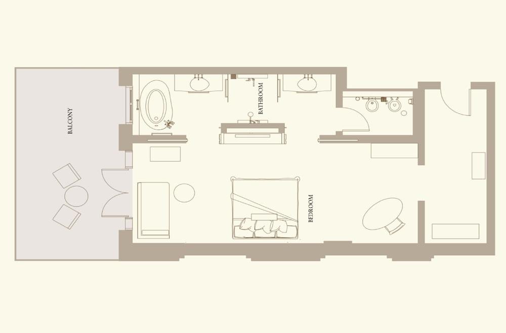 더 세인트 레기스 사디얏 아일랜드 리조트, 아부 다비(The St. Regis Saadiyat Island Resort, Abu Dhabi) Hotel Image 55 - Floor plan