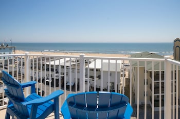 Balcony View at Crystal Beach Hotel in Ocean City