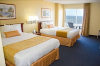 Standard Room, 2 Queen Beds, Oceanfront at Crystal Beach Hotel in Ocean City