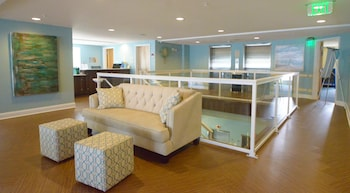 Lobby Sitting Area at Crystal Beach Hotel in Ocean City