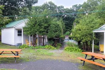 Classic Cabin, Courtyard View