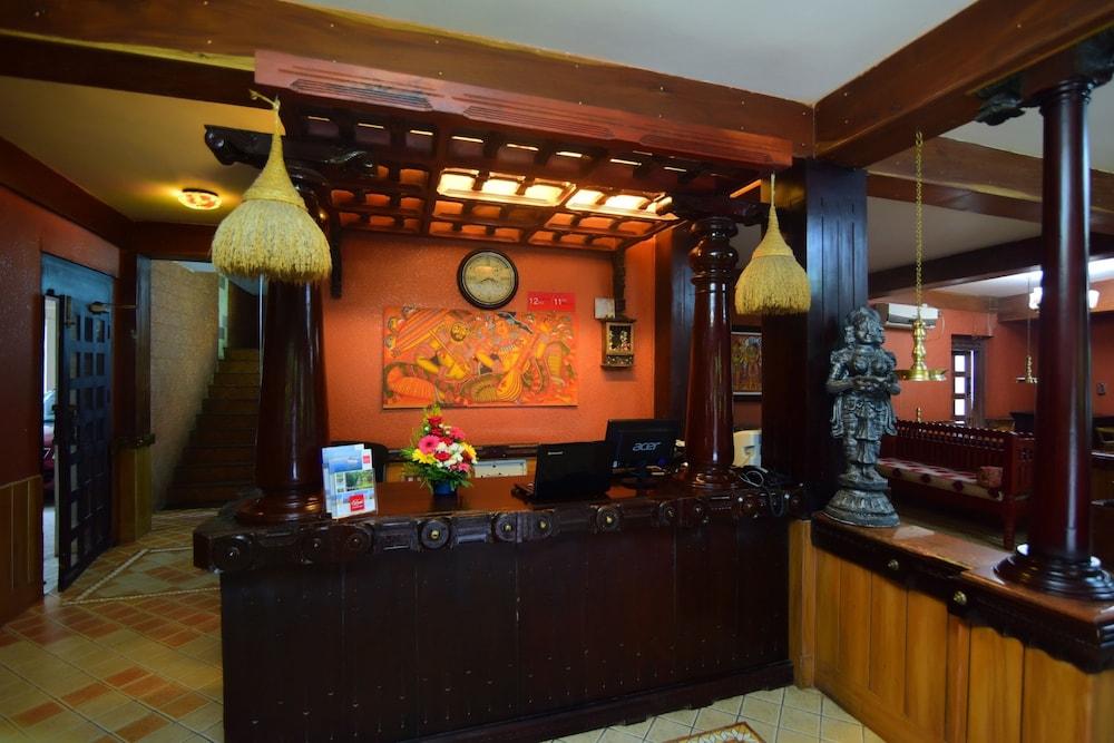 코발람 비치 호텔(Kovalam Beach Hotel) Hotel Image 14 - Reception