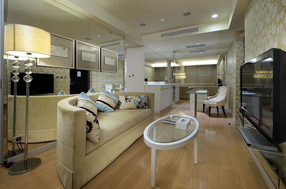 크리스탈 리조트 선 문 레이크(The Crystal Resort Sun Moon Lake) Hotel Image 15 - Living Area