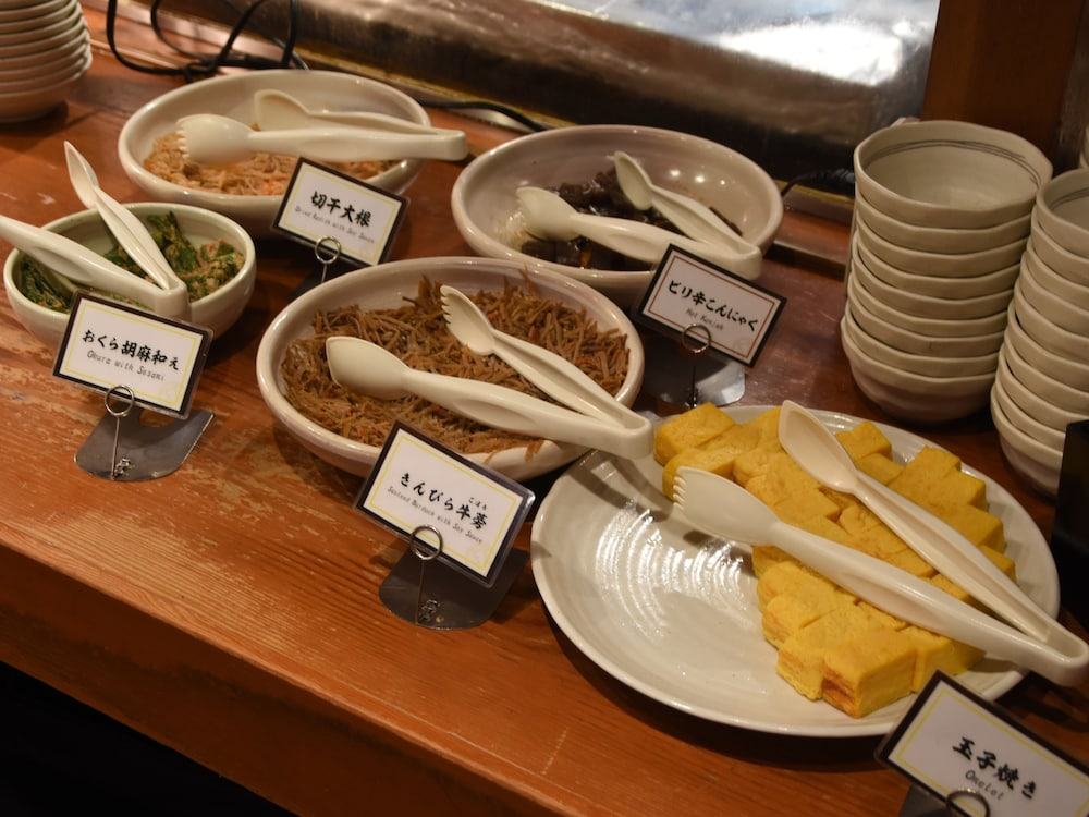 니시테츠 인 신주쿠(Nishitetsu Inn Shinjuku) Hotel Image 34 - Breakfast Area