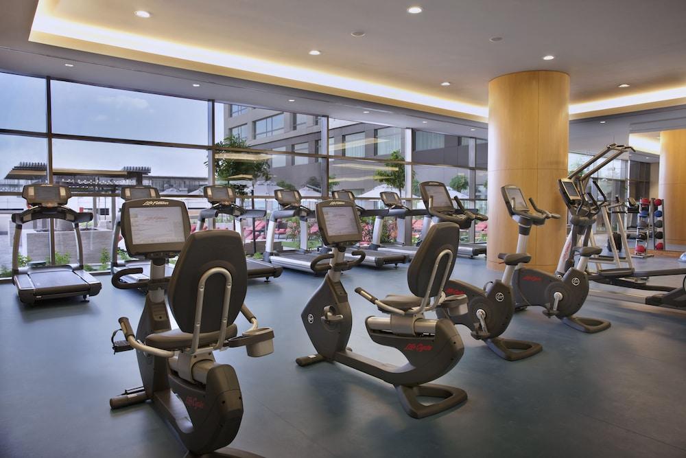 스위소텔 알 구르아이르 두바이(Swissotel Al Ghurair Dubai) Hotel Image 34 - Gym