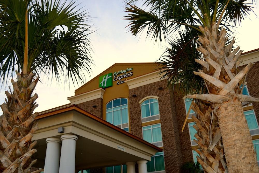 홀리데이 인 익스프레스 호텔 & 스위트 찰스턴 Arpt - Conv Ctr(Holiday Inn Express Hotel & Suites Charleston Arpt-Conv Ctr) Hotel Image 39 - Hotel Front
