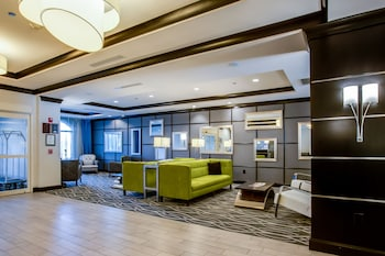 Lobby Sitting Area at Holiday Inn Express Hotel & Suites Charleston Arpt-Conv Ctr in North Charleston
