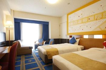 カジュアルツイン (禁煙) 2名|ホテル京阪 ユニバーサル・シティ