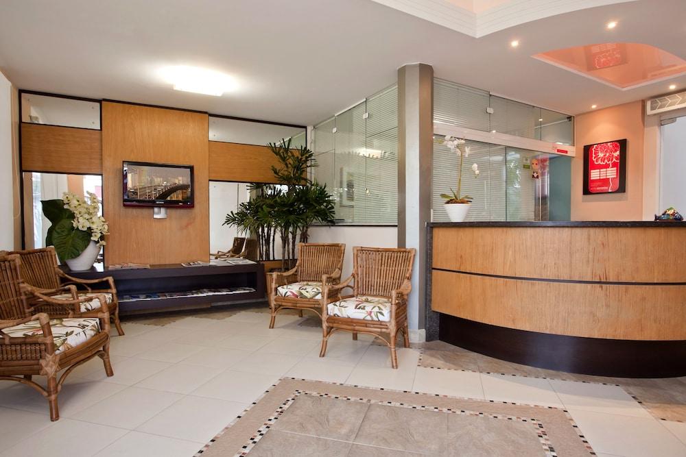 호텔 게라니우스 프라이아 두스 잉글레지스(Hotel Geranius Praia dos Ingleses) Hotel Image 15 - Reception