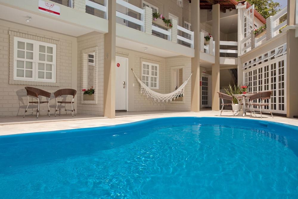 호텔 게라니우스 프라이아 두스 잉글레지스(Hotel Geranius Praia dos Ingleses) Hotel Image 16 - Outdoor Pool