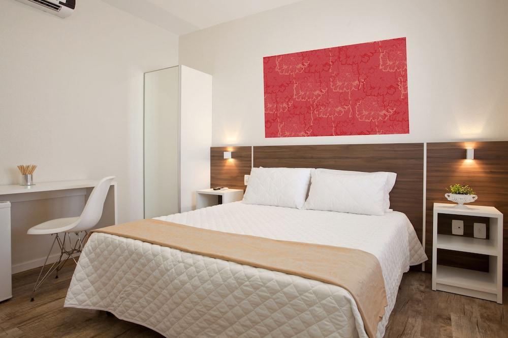 호텔 게라니우스 프라이아 두스 잉글레지스(Hotel Geranius Praia dos Ingleses) Hotel Image 4 - Guestroom