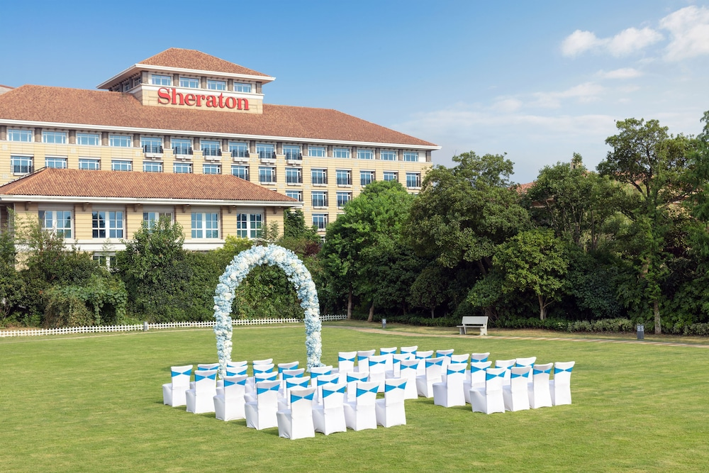 쉐라톤 창저우 우진 호텔(Sheraton Changzhou Wujin Hotel) Hotel Thumbnail Image 38 - Outdoor Wedding Area