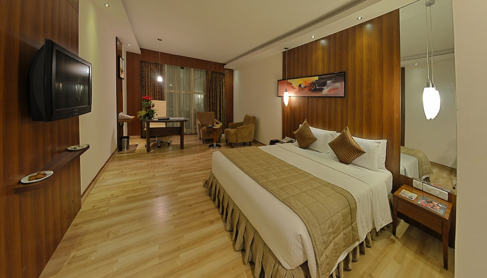 고쿨람 파크 코임바토르(Gokulam Park Coimbatore) Hotel Image 17 - Guestroom