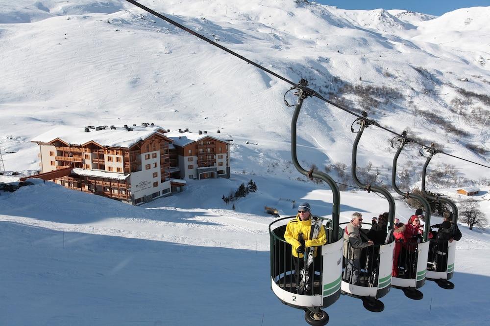 르 샬렛 뒤 몬트 발론 스파 리조트(Le Chalet du Mont Vallon Spa Resort) Hotel Image 25 - Ski Hill