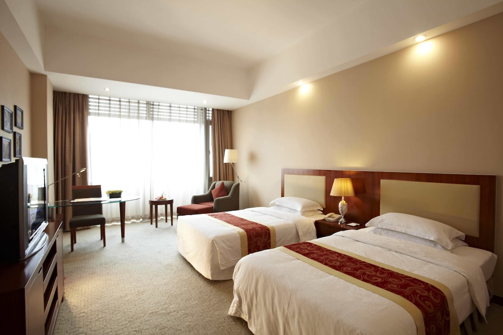 시안 지아오통 리버풀 인터내셔널 컨퍼런스 센터(Xi'an Jiaotong Liverpool International Conference Center) Hotel Thumbnail Image 4 - Guestroom