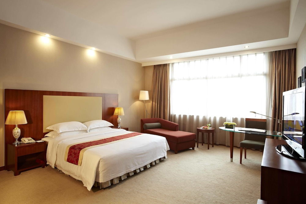 시안 지아오통 리버풀 인터내셔널 컨퍼런스 센터(Xi'an Jiaotong Liverpool International Conference Center) Hotel Thumbnail Image 5 - Guestroom