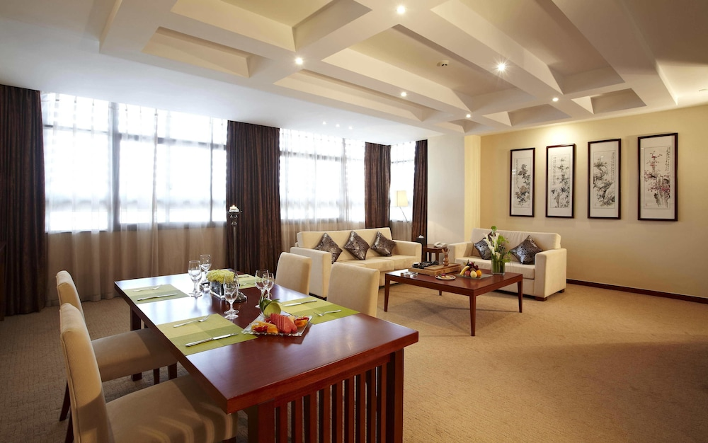 시안 지아오통 리버풀 인터내셔널 컨퍼런스 센터(Xi'an Jiaotong Liverpool International Conference Center) Hotel Image 8 - Living Area