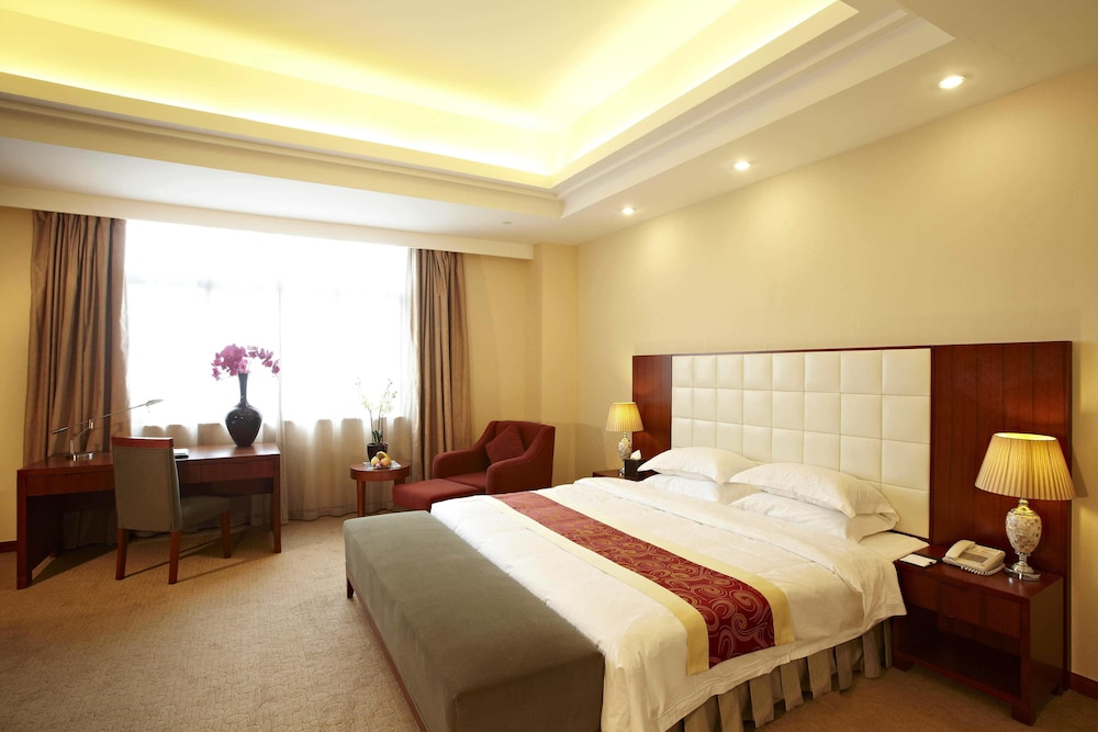 시안 지아오통 리버풀 인터내셔널 컨퍼런스 센터(Xi'an Jiaotong Liverpool International Conference Center) Hotel Thumbnail Image 3 - Guestroom