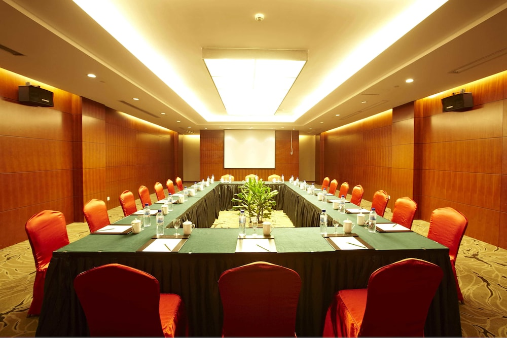 시안 지아오통 리버풀 인터내셔널 컨퍼런스 센터(Xi'an Jiaotong Liverpool International Conference Center) Hotel Thumbnail Image 9 - Meeting Facility