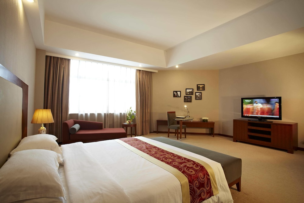 시안 지아오통 리버풀 인터내셔널 컨퍼런스 센터(Xi'an Jiaotong Liverpool International Conference Center) Hotel Thumbnail Image 6 - Guestroom