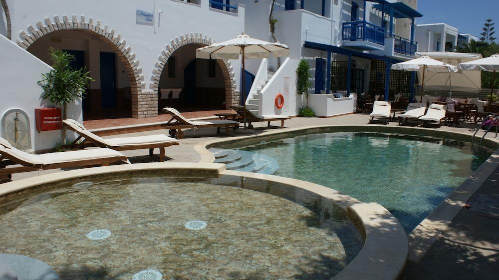 디미트라(Dimitra) Hotel Image 37 - Hotel Front - Evening/Night