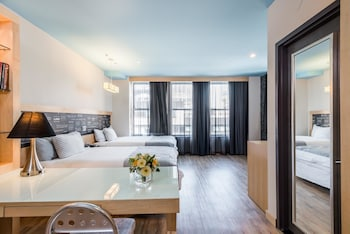 Guestroom at TRYP By Wyndham Times Square South in New York
