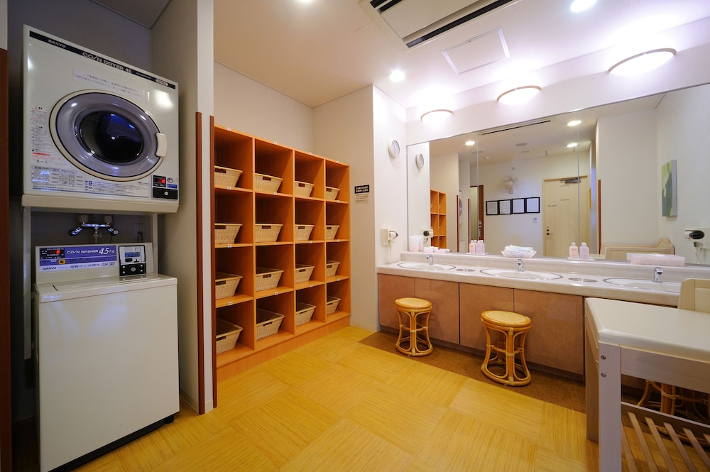 루트-인 그란티아 시레토코 샤리키메(Route-Inn Grantia Shiretoko Shariekimae) Hotel Image 39 - Laundry Room